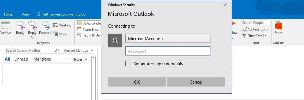 Outlook App Password