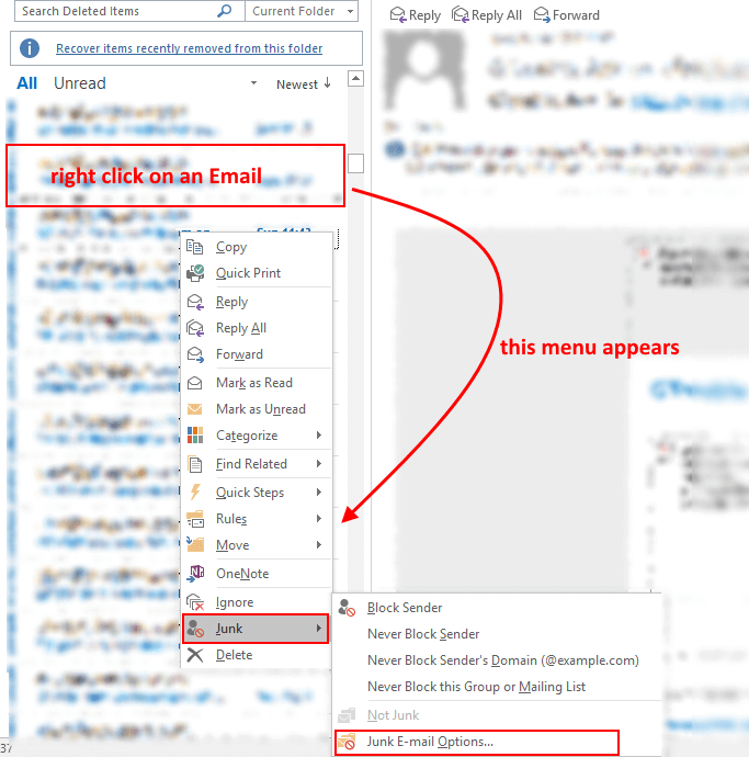 block domains in outlook