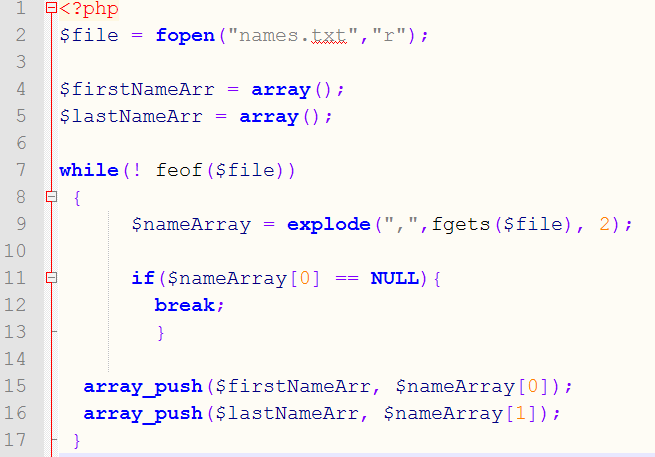 random name generator php tutorial tech tool tips simon muckle